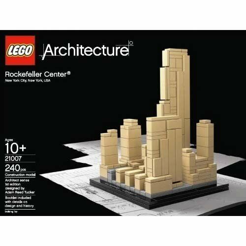 LEGO Architecture Rockefeller Center (21007)   eBay