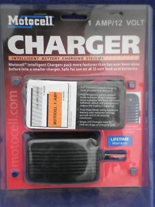 MOTO-CELL-BATTERY-TRICKLE-CHARGER-MOTORCYCLE-HARLEY-NEW
