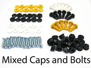 72-Pcs-NUMBER-PLATE-CAPS-SCREWS-BOLTS-NUTS-FITTING-FIX