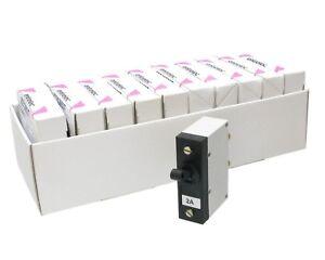 entrelec Circuit Breaker GNU 2S 50 M721 Stopcircuit, 100VDC, 2 Amp, 1 Pole 10pc