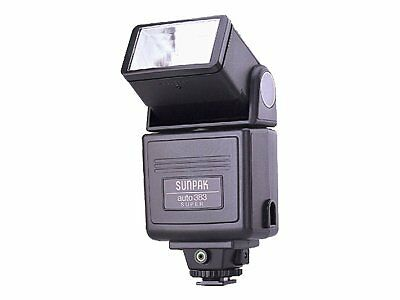 sunpak auto 383 super shoe mount flash for canon ebay rh ebay com Number 392 Number 392