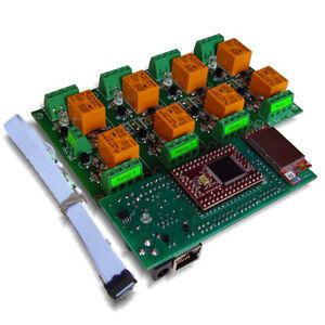 Wireless-WiFi-802-11-Eight-8-Channel-Relay-Module-Board-Web-TCP-IP-VB6-BCB6