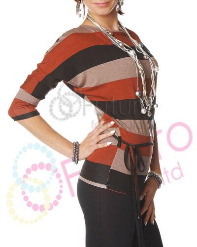 Women Tunic Kimono Batwing Style Unique Pattern Colorful Size 8-12 Cordia 4026A