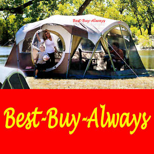 Coleman-WeatherMaster-6-7-8-9-10-Person-Large-Screened-Tent-Family-Cabin-Camping