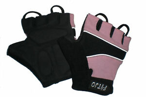 PINK-CHILDRENS-GEL-PADDED-CYCLING-BIKE-MTB-BMX-BICYCLE-GLOVES-MITTS-XXXXS-S