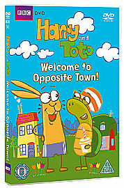 Harry And Toto - Welcome To Opposite Town! DVD BBC Kids