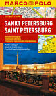 St Petersburg Marco Polo City Map by Marco Polo (Sheet map, folded, 2013)