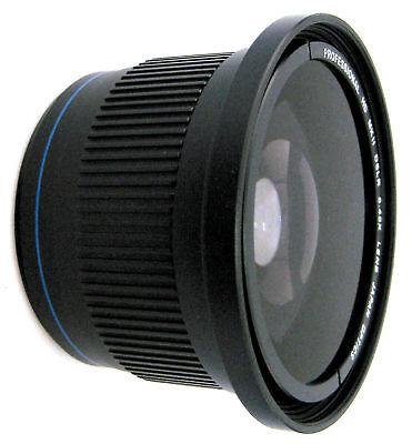 0.42x Super Wide Angle FISH EYE Lens MACRO for Canon EOS 7D 60D 50D 40D 30D 20D
