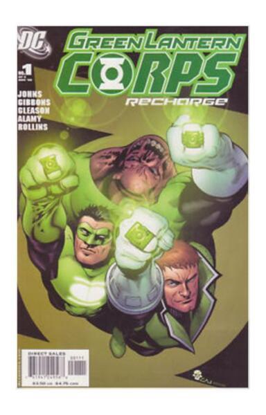 green lantern corps recharge 1 nov 2005 dc ebay