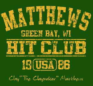 988-CLAY-MATTHEWS-HIT-CLUB-Green-Bay-Packers-retro-football-nfl-jersey-T-Shirt