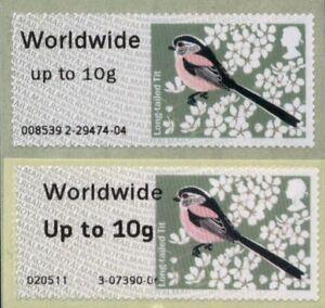 !ERRORS! - BIRDS 2 - Post & Go BRISTOL K3 SINGLE ww10g SCARCE - NOW OFF SALE