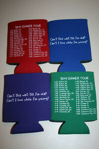 2011-Phish-Summer-Tour-Koozie-Coolie-Coozie-Huggie-Not-Poster-Shirt-Tickets-Pin