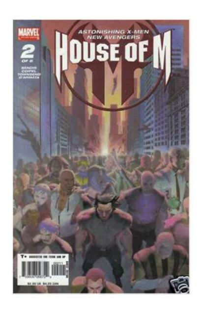 House of M #2 (Aug 2005, Marvel)