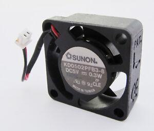 1pc-SUNON-KD0502PFB3-8-5V-0-3W-25x25x10mm-25mm-2510-2pin-DC-Fan