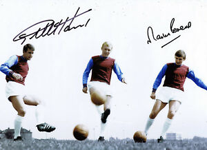Geoff-Hurst-amp-Martin-Peters-West-Ham-SIGNED-Photo-AFTAL