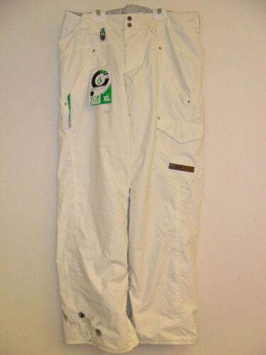 Volcom Women's Snow Pants SHEGER White XL NWT