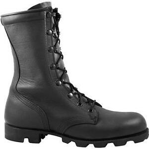 US-Army-Issued-Black-Leather-Combat-Boots