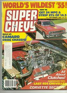 Super-Chevy-Magazine-September-1981-Very-Good-condition
