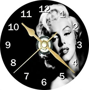 Marilyn-Monroe-Novelty-Cd-Clock-Can-be-personalised
