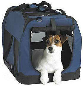 Portable pet dog cat carrier/house/crate [MEDIUM]