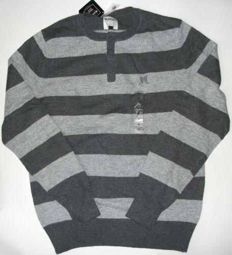 size M or XL NWT Genuine RUFFIAN threads /& heirs button crewneck sweater
