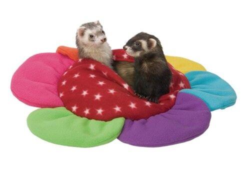Marshall Ferret Cage Plush Krackle Sack Bed Toy Flower