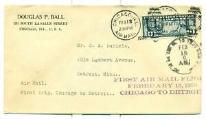 1926-CAM-FLIGHT-COVER-7E3-CHICAGO-TO-DETROIT-C7-FDC-2-13-26-FORD-MOTOR-CO