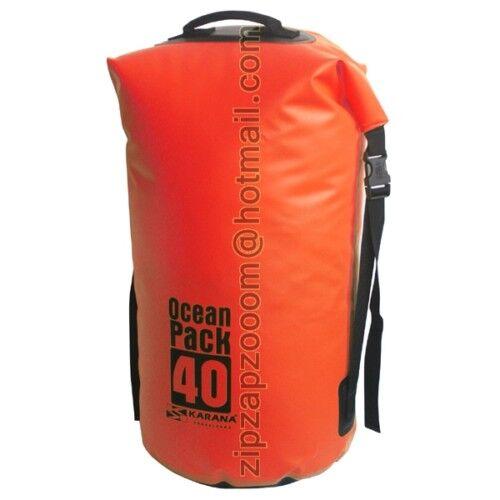 Karana Ocean Dry Duffle Pack Waterproof Kayak Shoulder Bag Travel Rucksack 40L