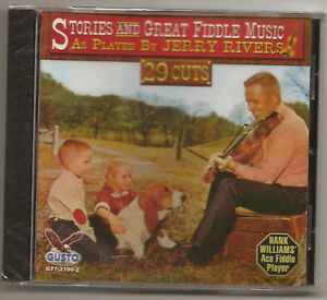 JERRY-RIVERS-CD-HANK-WILLIAMS-FIDDLE-PLAYER-29-CUTS