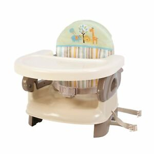 NO TAX NEW Summer Infant Deluxe Comfort Booster Baby Seat High Chair Feeding TAN