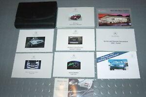 2002 mercedes benz ml320 ml500 ml55 owners manual set ebay for Mercedes benz ml320 repair manual