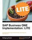 SAP Business ONE Implementation:LITE by Wolfgang Niefert (Paperback, 2011)