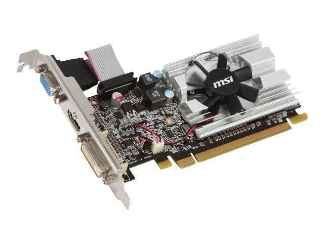 MSI AMD Radeon HD 6450 (R6450-MD1GD3/LP) 1GB / 1GB (max ...
