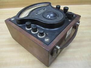 General-Electric-704569-Vintage-Wattmeter-Without-Lid-39025-Used