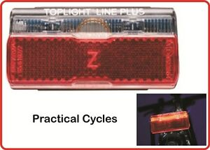 Busch-Muller-Toplight-LED-Linetec-Plus-Rear-LED-Dynamo-Cycle-Light-Rack-Mount