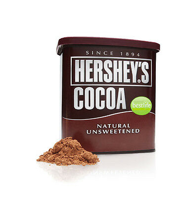 NEW HERSHEY'S COCOA POWDER UNSWEETENED 652g  Best Before APR 2019