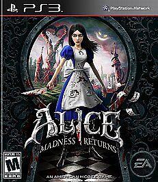 Alice: Madness Returns (Sony PlayStation 3, 2011) BRAND NEW SEALED