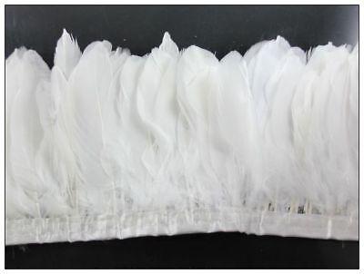 Swan shoulder feathers 6-7inches 50pcs color&quantity optional