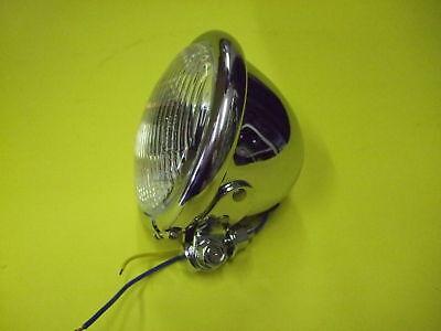 """BATES 4 1/2"""" CHROME SPOT FOG LAMP LIGHT"""