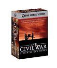 The Civil War: A Film Directed By Ken Burns (VHS, 1990, 9-Tape Set)