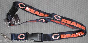 NFL-NWT-KEYCHAIN-LANYARD-CHICAGO-BEARS