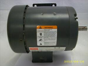 Dayton 1 3hp 3ph industrial motor 2n864m ebay for Electric motor repair indianapolis