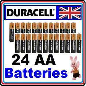 24-X-AA-Duracell-Alkaline-Batteries-MN1500-Battery-NEW-Duracel-R6