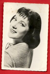 Cromo-Foto-Colette-Renard-Vins-Courtois-1950-Ed-P-I-Paris-Serie-4-N-72