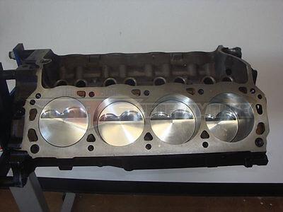 Ford 347 Stroker Short Block SBF 302 331 Dome Top Probe Pistons 13:1 CR