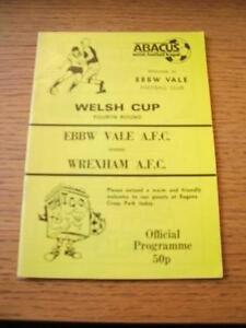 1988-1989-Ebbw-Vale-v-Wrexham-Welsh-Cup-No-obvious-faults-unless-descriptio