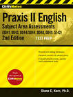 CliffsNotes Praxis II English Subject Area Assessments (0041, 0043, 0044/5044, 0048, 0049, 5142) by Diane E. Kern (Paperback, 2013)
