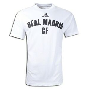 adidas-Real-Madrid-CF-2011-2012-Soccer-Fan-Shirt-Tee-Brand-New-White