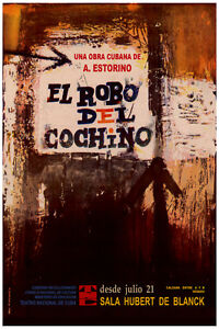 3146-The-theft-of-the-pig-Cuban-film-POSTER-Home-interior-design-decor-art