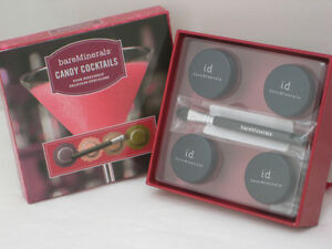 BARE-ESCENTUALS-bareMinerals-CANDY-COCKTAILS-SET-w-Brush-56-New-amp-Boxed